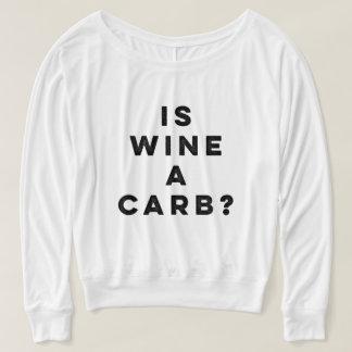 É o vinho um carburador? Camisa longa da luva das