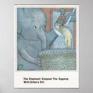 E para o poster do elefante