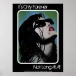 """""""É somente para sempre"""" poster do vampiro"""