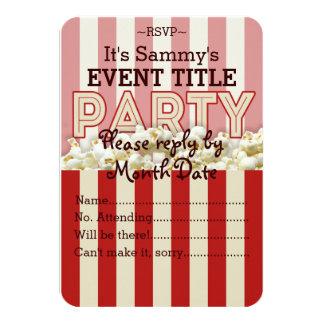 É sua fonte personalizada do partido convite 8.89 x 12.7cm