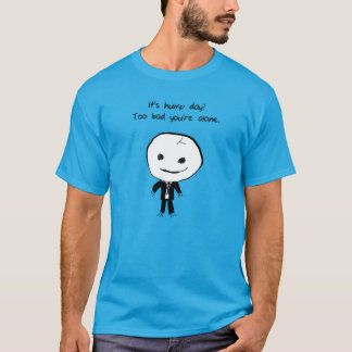 É t-shirt do dia de corcunda camiseta