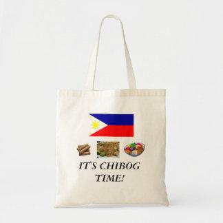 É tempo de Chibog! bolsa do orçamento
