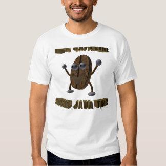 É tempo de Java do açúcar da cafeína! Camiseta