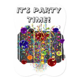 É tempo do partido!  Convite