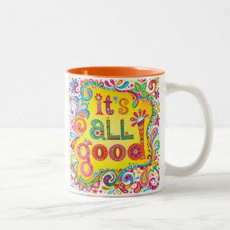 """""""É toda a boa"""" caneca - caneca inspirada da arte"""