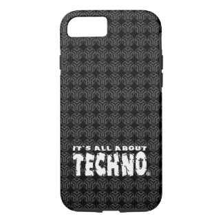 É toda sobre Techno - capa de telefone