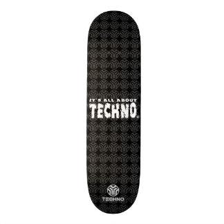 É toda sobre Techno - skate