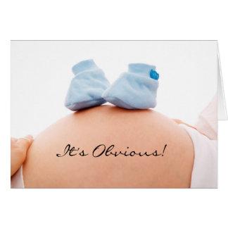 É um anúncio do bebê do menino & um convite do chá