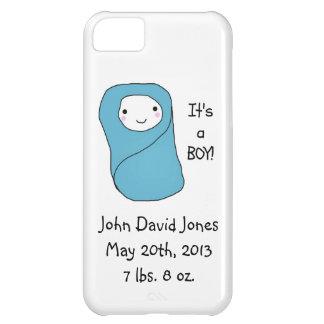 É um anúncio novo do nascimento do bebê do menino capa para iPhone 5C