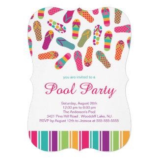 É um convite da festa na piscina do falhanço de sa