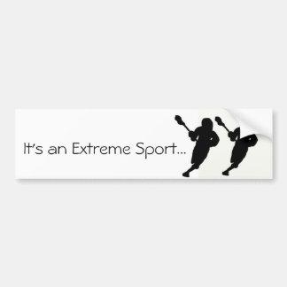 É um esporte extremo… adesivo