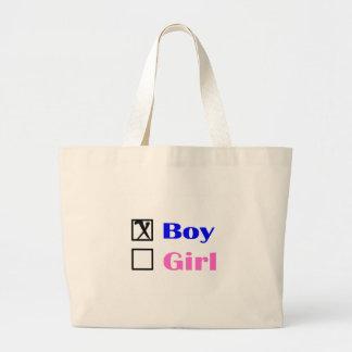 É um menino (a verificação) bolsa para compra