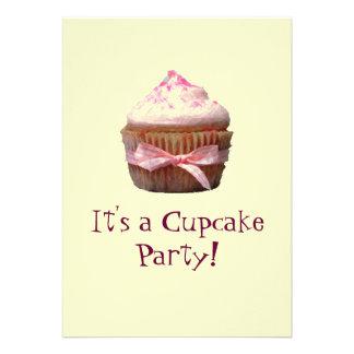 É um partido do cupcake! Convites