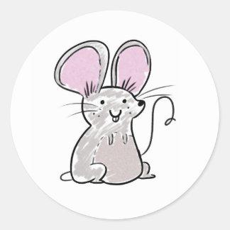 É um rato! Etiqueta