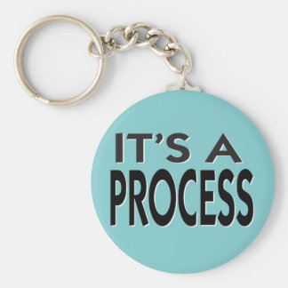 É um slogan inspirador do processo chaveiro