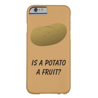 É uma batata uma fruta? Capa de telefone