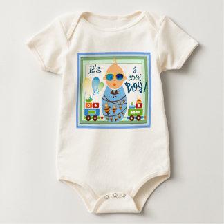 É uma camisa do bebé macacãozinhos para bebê