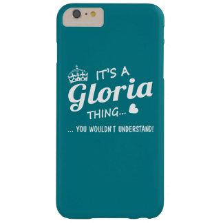 É uma coisa de GLORIA Capa Barely There Para iPhone 6 Plus