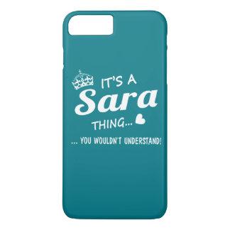 É uma coisa de SARA Capa iPhone 7 Plus