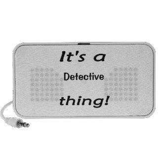 É uma coisa do detetive caixinhas de som para viagem