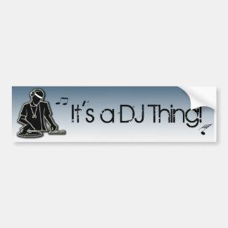 É uma coisa do DJ! Adesivo