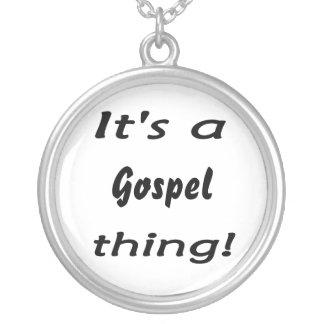 É uma coisa do evangelho! bijuteria personalizada
