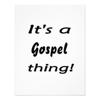 É uma coisa do evangelho convite