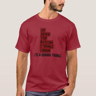 É UMA COISA do QUARK Camiseta