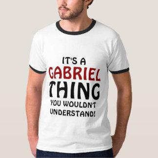 É uma coisa que de Gabriel você não compreenderia Camiseta