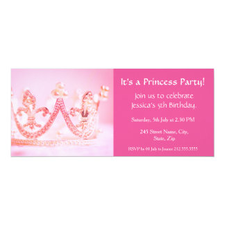 É uma princesa Partido! Convite do aniversário