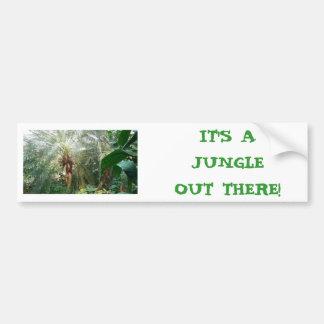 É uma selva… adesivo para carro