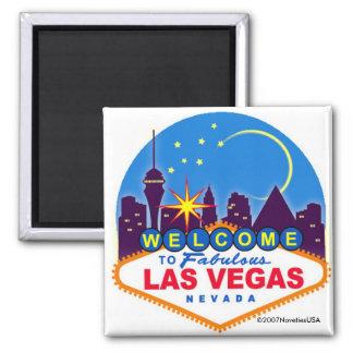 É Vegas, bebê! Ímã Quadrado