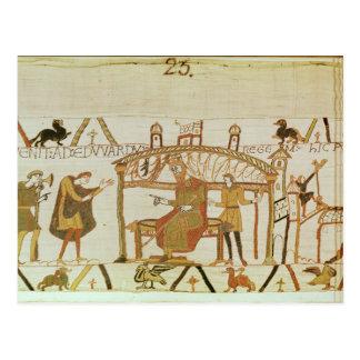 E vem antes do rei Edward Cartão Postal