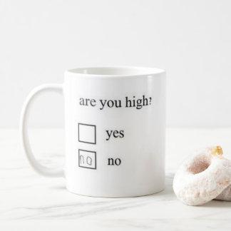 É você alto? Caneca