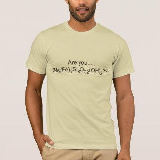 (É você) Cummingtonite??? Camiseta