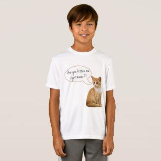 """""""É você gatinho mim meow direito?"""" Camisa do"""