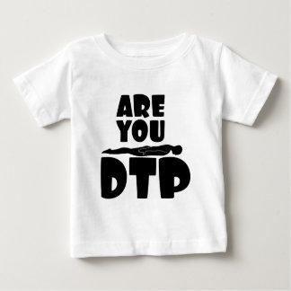 É você pena à prancha? camiseta para bebê