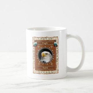 Eagle - caneca de café clássica do espírito