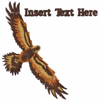 Eagle feito sob encomenda bordou a camisa camisas polo bordadas