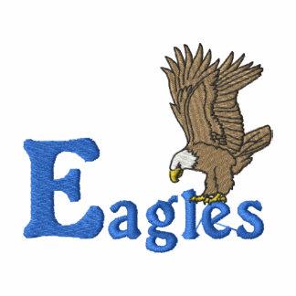Eagles Camiseta Bordada Polo