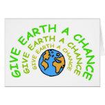 earthday cartão