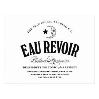 Eau Revoir - cartão