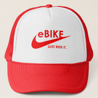 """""""eBIKE - APENAS MONTE-O."""" chapéus e bonés feitos"""