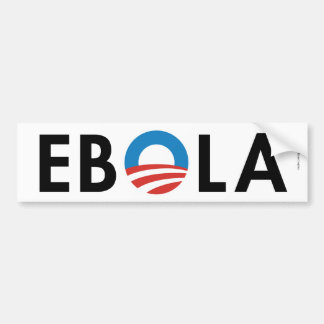EBOLA - Anti Obama Adesivo Para Carro