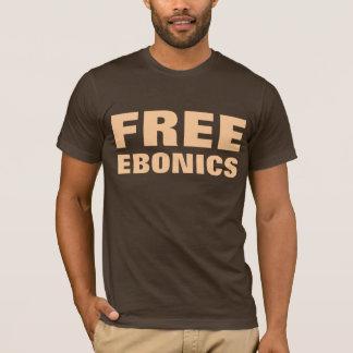 Ebonics livre camiseta