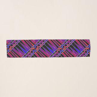 """Echarpe Art deco """"fraturado"""" por Kenneth Yoncich"""