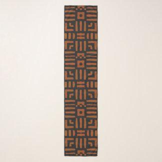 Echarpe Design tribal africano morno