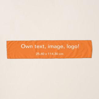 Echarpe Do lenço do Chiffon laranja por muito tempo uni