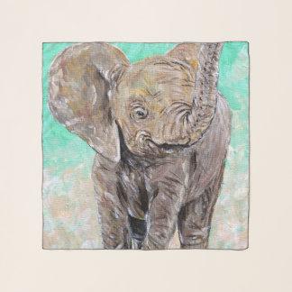 Echarpe Elefante do bebê