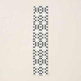 Echarpe Formas geométricas do nómada tribal